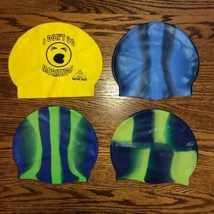 Swimcaps (can be bought separately or together)!